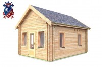 Log Cabin Roselands 4.0m x 5.7m - 609 2