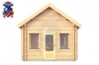 Log Cabin Roselands 4.0m x 5.7m - 609 4