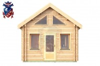 Log Cabin Roselands 4.0m x 5.7m - 609 1