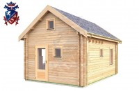 Log Cabin Roselands 4.0m x 5.7m - 609 9