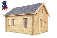 Log Cabin Playden 4.0m x 5.7m - 615 4