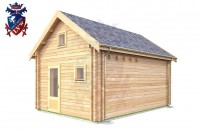 Log Cabin Playden 4.0m x 5.7m - 615 2