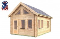 Log Cabin Playden 4.0m x 5.7m - 615 3