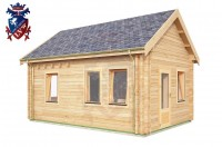 Log Cabin Jevington 4.0m x 5.7m - 616 3