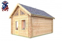 Log Cabin Jevington 4.0m x 5.7m - 616 2