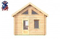 Log Cabin Jevington 4.0m x 5.7m - 616 1
