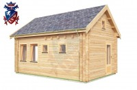 Log Cabin Meads 4.0m x 5.7m - 617 3