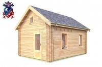 Log Cabin Meads 4.0m x 5.7m - 617 2