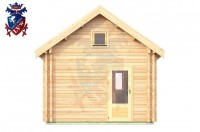 Log Cabin Meads 4.0m x 5.7m - 617 1
