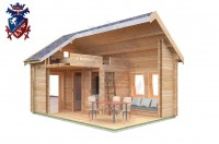 Log Cabin Meads 4.0m x 5.7m - 617 8