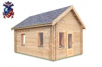 Log Cabin Meads 4.0m x 5.7m - 617 4