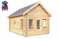 Log Cabin Burwash 4.0m x 5.7m - 618 2