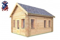 Log Cabin Burwash 4.0m x 5.7m - 618 3