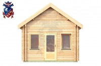 Log Cabin Burwash 4.0m x 5.7m - 618 4