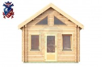 Log Cabin Burwash 4.0m x 5.7m - 618 1