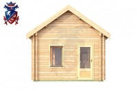 Log Cabin Downside 4.0m x 5.7m - 619 1