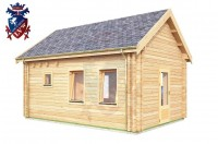 Log Cabin Chiddingly 4.0m x 5.7m - 623 3
