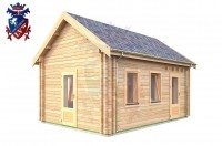 Log Cabin Chiddingly 4.0m x 5.7m - 623 2