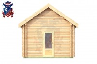 Log Cabin Chiddingly 4.0m x 5.7m - 623 1