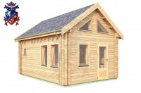 Log Cabin Arlington 4.0m x 5.7m - 624 2