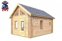 Log Cabin Arlington 4.0m x 5.7m - 624 3