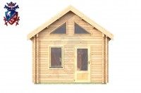 Log Cabin Arlington 4.0m x 5.7m - 624 1