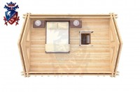 Log Cabin Arlington 4.0m x 5.7m - 624 5