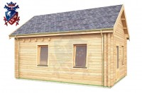 Log Cabin Norton 4.0m x 5.7m - 625 4