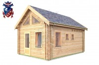 Log Cabin Norton 4.0m x 5.7m - 625 2