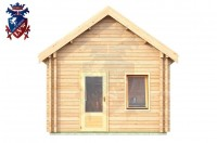 Log Cabin Norton 4.0m x 5.7m - 625 1