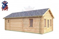 Log Cabin Heathfield 4.0m x 8.0m - 631 2