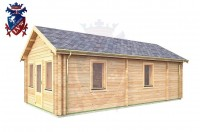Log Cabin Heathfield 4.0m x 8.0m - 631 3