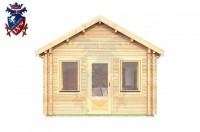 Log Cabin Heathfield 4.0m x 8.0m - 631 1
