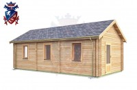 Log Cabin Langney 4.0m x 8.0m - 632 2