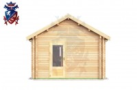 Log Cabin Langney 4.0m x 8.0m - 632 1