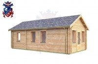 Log Cabin Mount Pleasant 4.0m x 8.0m - 634 2