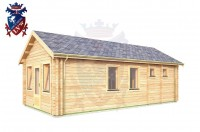 Log Cabin Mount Pleasant 4.0m x 8.0m - 634 3