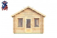 Log Cabin Mount Pleasant 4.0m x 8.0m - 634 1