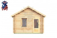 Log Cabin Seaford 4.0m x 8.0m - 636 1
