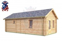 Log Cabin Folkington 4.0m x 8.0m - 639 2