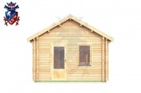 Log Cabin Folkington 4.0m x 8.0m - 639 1