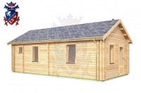 Log Cabin Broomgrove 4.0m x 8.0m - 642 2