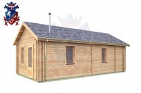 Log Cabin Broomgrove 4.0m x 8.0m - 642 3