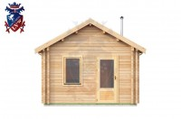 Log Cabin Broomgrove 4.0m x 8.0m - 642 1