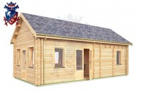 Log Cabin East Dean 4.0m x 8.0m - 643 2