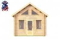 Log Cabin East Dean 4.0m x 8.0m - 643 1