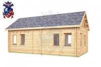 Log Cabin Battle 4.0m x 8.0m - 647 3