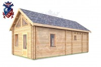Log Cabin Battle 4.0m x 8.0m - 647 2