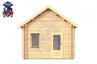 Log Cabin Battle 4.0m x 8.0m - 647 4
