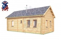 Log Cabin Hastings 4.0m x 8.0m - 648 2